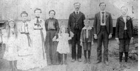photo of John William Chandler Family