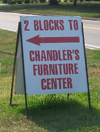 Chandler family association chandler sightings for T furniture okolona ms