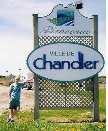 Image result for logo for chandler quebec